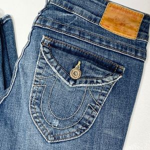 True Religion Flap Pocket Stella Skinny Jeans 30